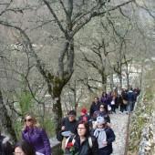 01. pellegrini a Roccaporena il 5 e 6 aprile 2014