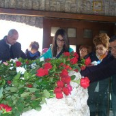 02. pellegrini a Roccaporena il 5 e 6 aprile 2014