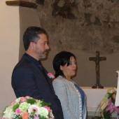 07. pellegrini a Roccaporena il 5 e 6 aprile 2014 - 25° Maria Carla e Piero