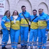 08. pellegrini a Roccaporena il 5 e 6 aprile 2014 - Gruppo della Misericordia di Ortanova