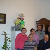 due famiglie di ex-alunni del Centro educativo da Roma e da Milano