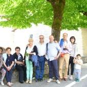 alcuni pellegrini di Arezzo