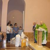 01. Benedizione del pane offerto dai pellegrini di Altamura