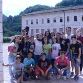 02. Ragazzi del campo scuola della parrocchia di Massa Martana