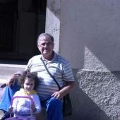 Sara Da Brindisi con il nonno