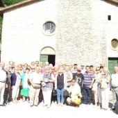 Gruppo di pellegrini proveniente dal Belgio