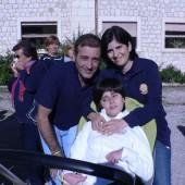 Rossella con la Mamma ed il papà