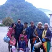 Pellegrini provenienti dalla Calabria