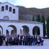 Gruppo «Amici uniti» insieme al rettore don Simone Maggi