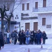 Pellegrini a Roccaporena