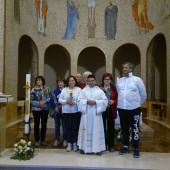 Gruppo di Porto S. Elpidio a Mare con don Emanuele Grasselli